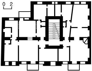 [2003 р.] План другого поверху (№ 43)