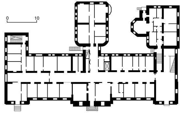 [2003 р.] План першого поверху…