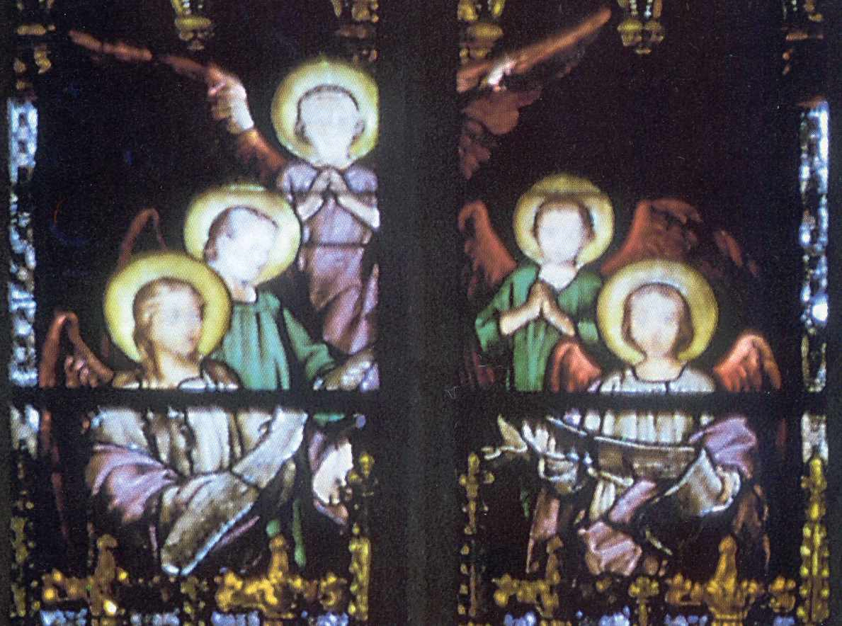 Верхня група ангелів