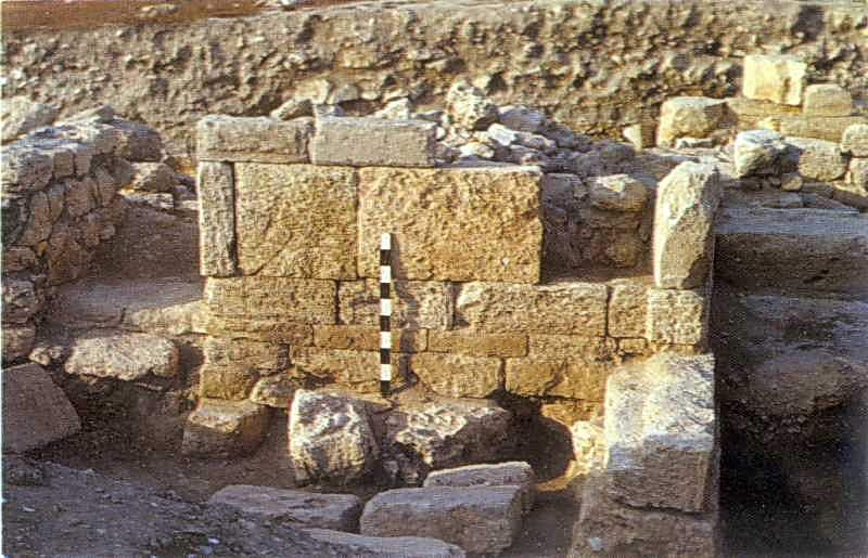 Крепостные стены цитадели. Конец III - II вв. до н.э.