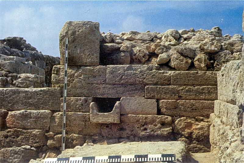 Крепостная стена цитадели. Конец III - II вв. д.н.э.