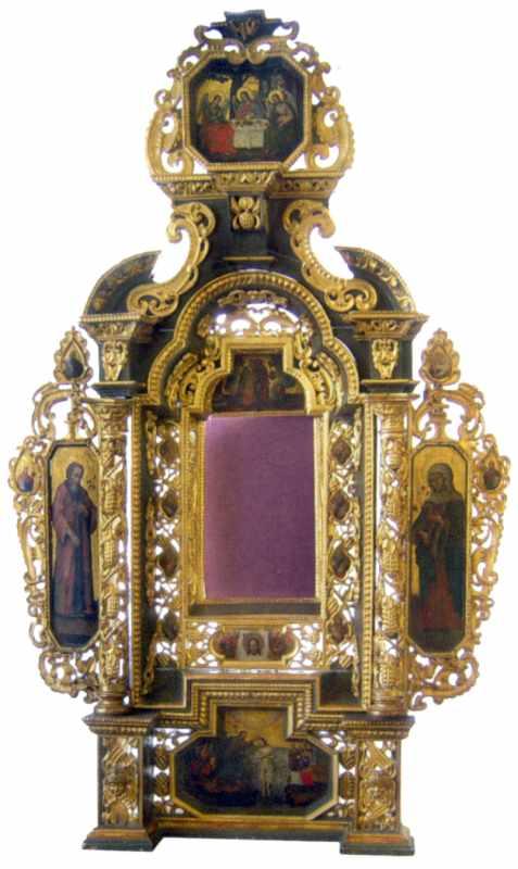 Вівтар. 1696 р. Загоровський монастир…