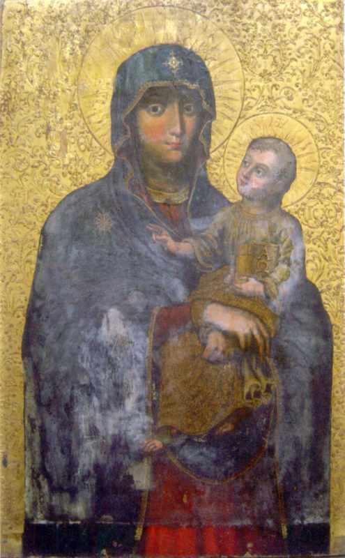 Богородиця з дитям. 1722 р. Іконостас…