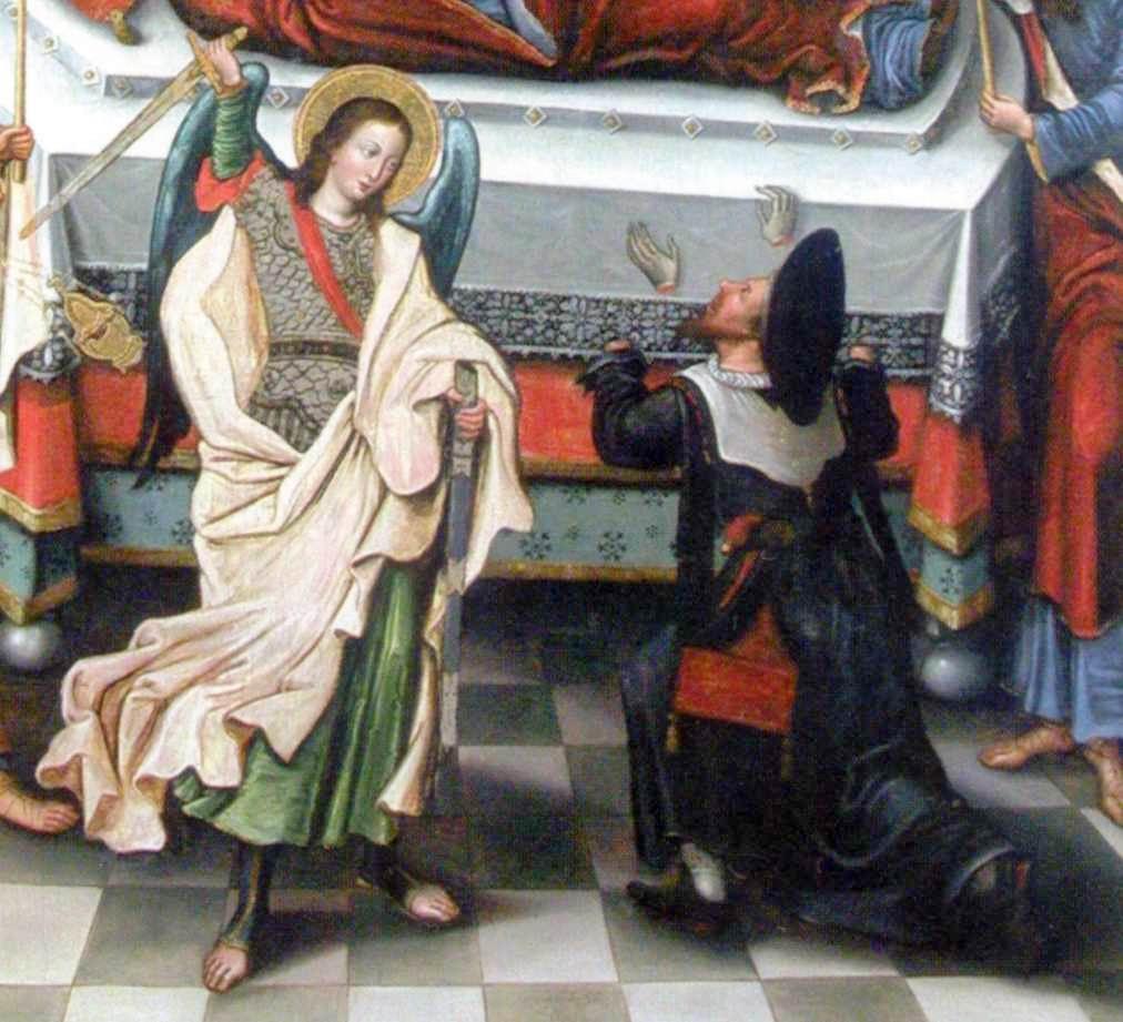 Архангел Михаїл та нечестивий Афоній