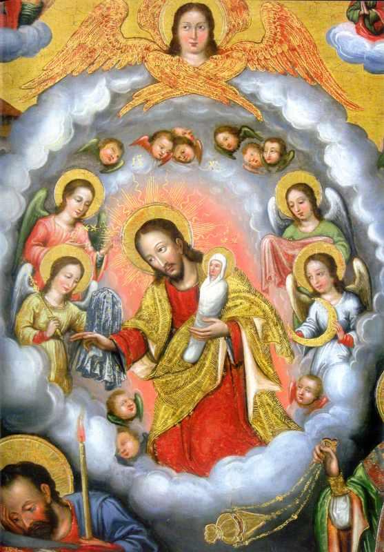 Ісус з душею Марії