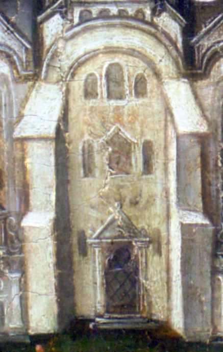 Центральна частина фасаду