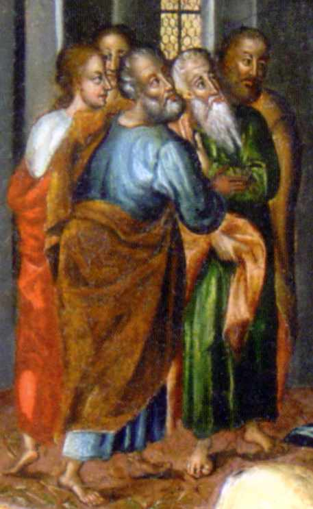 Ліва група апостолів
