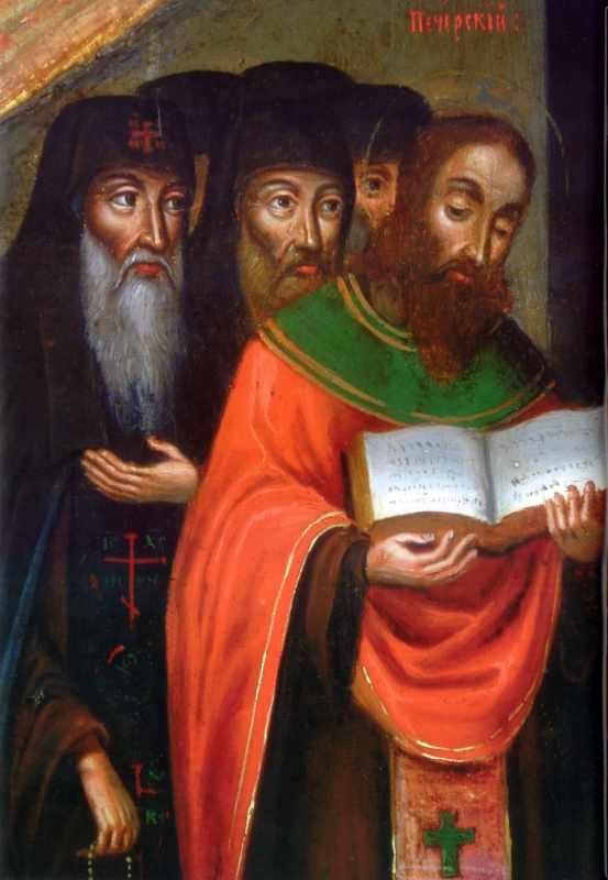 Ліва група ченців