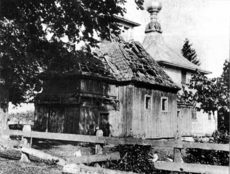 Стара і нова церкви св. Дмитра. Фото з…