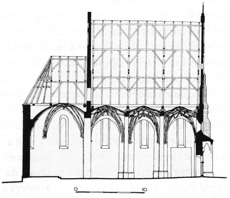 Перетин. За: Kwartalnik Architektury i Urbanistyki, 1968, N. 3.
