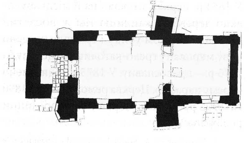План церкви на XVIIІ ст. За…