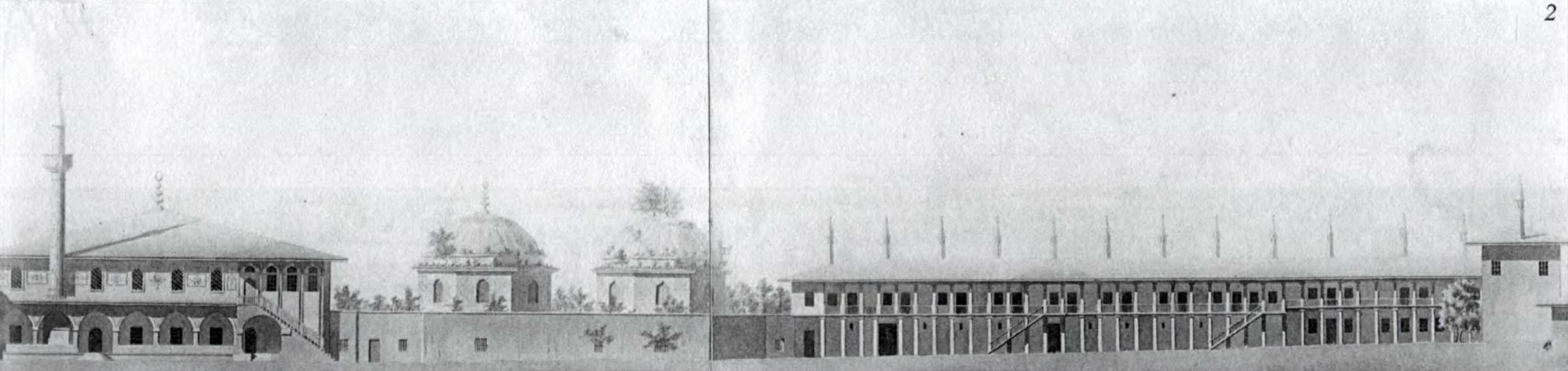 1798 р. Фасад східної перії, проект реставрації