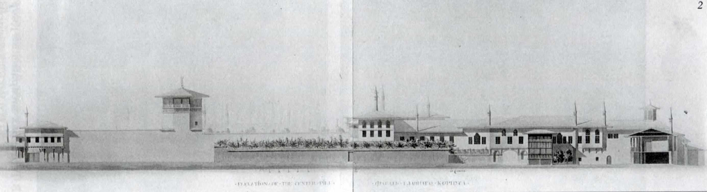 1798 р. Фасад західної перії, проект…