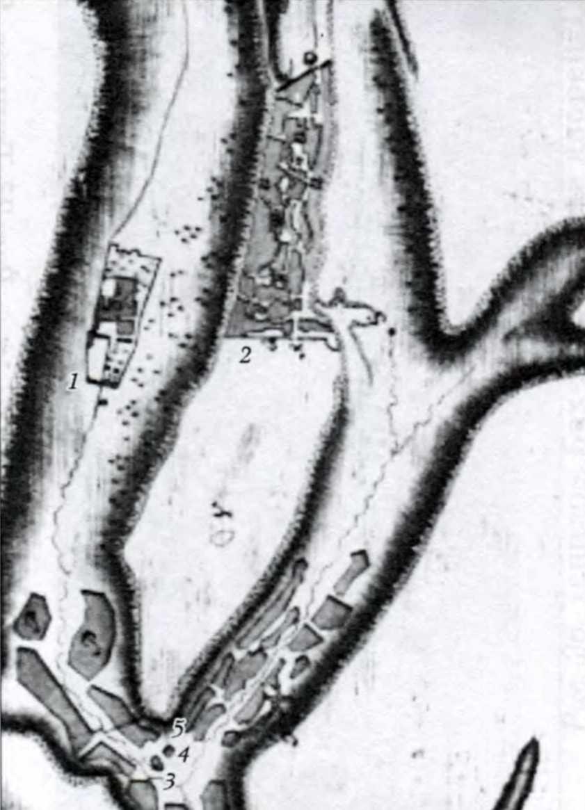 1803 р. План Чуфут-Кале