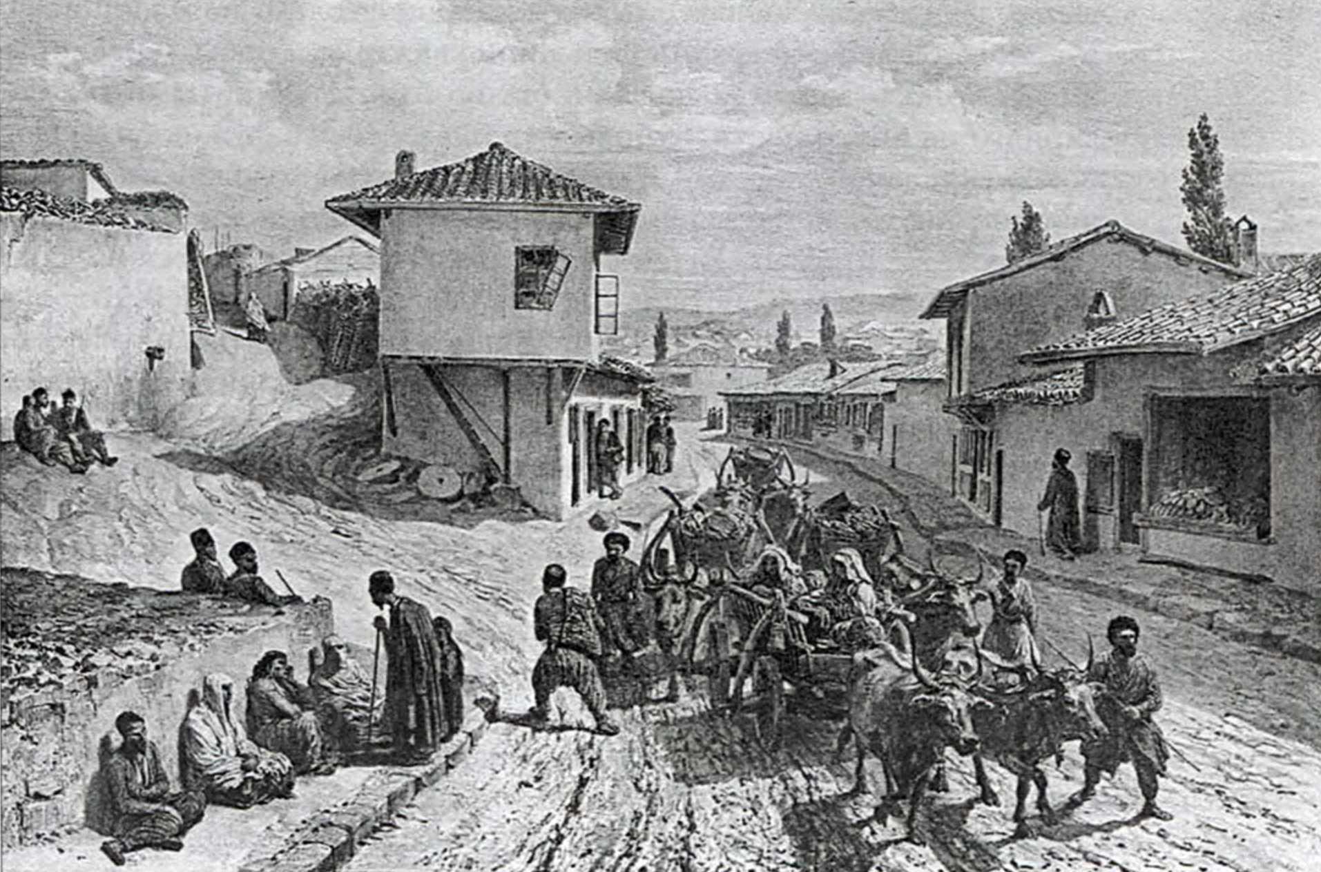1837 р. Головна вулиця у Бахчисараї
