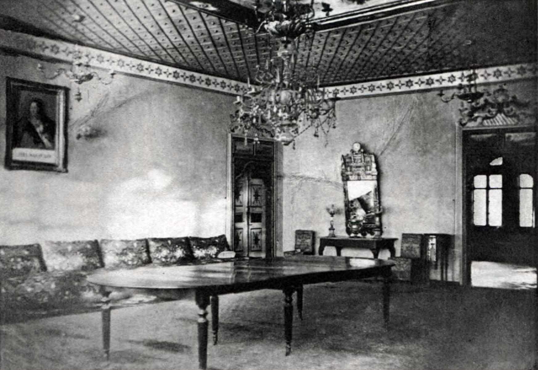 1880-і рр. Інтер'єр їдальні