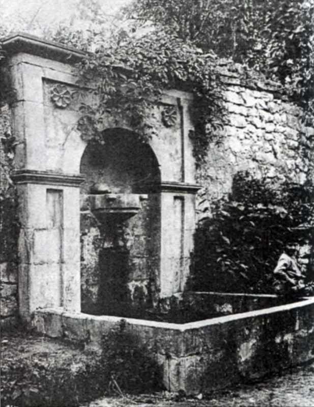 1880-і рр. Пристінний фонтан