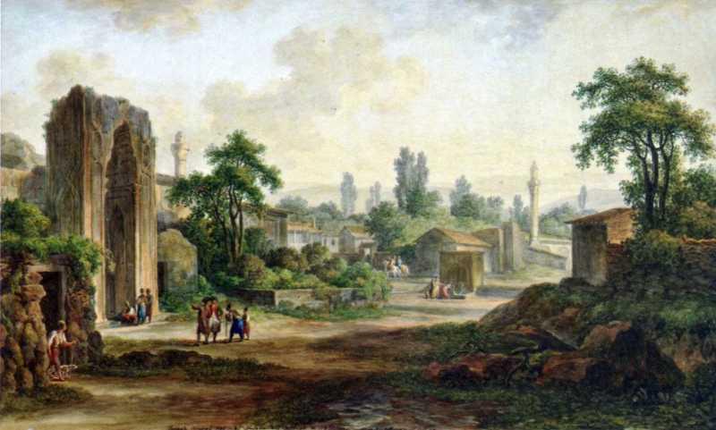 1783 р. Залишки школи у Старому Криму