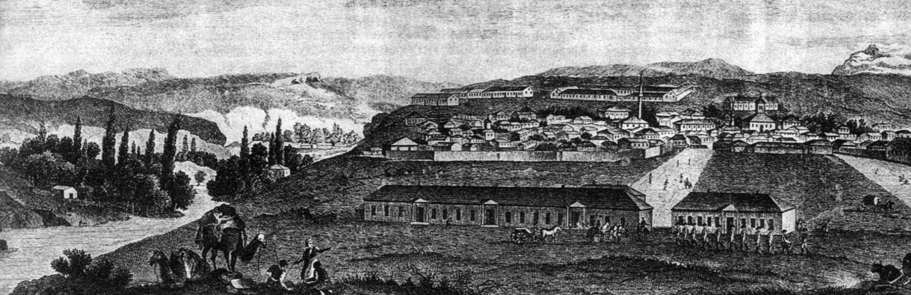 1803 р. Панорама Ак-Мечеті