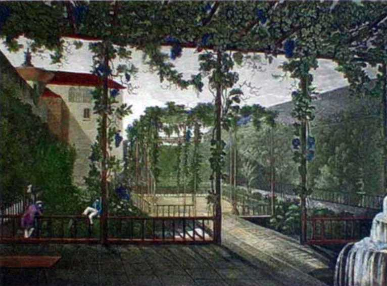 1840-і рр. Ханський сад