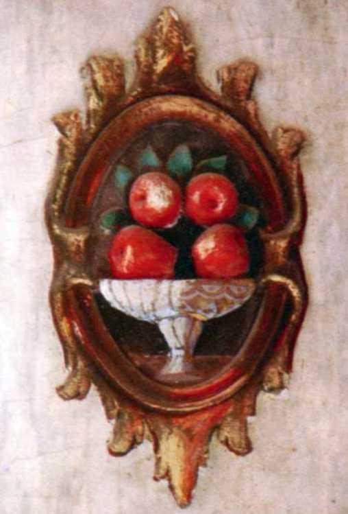 Ваза з яблуками