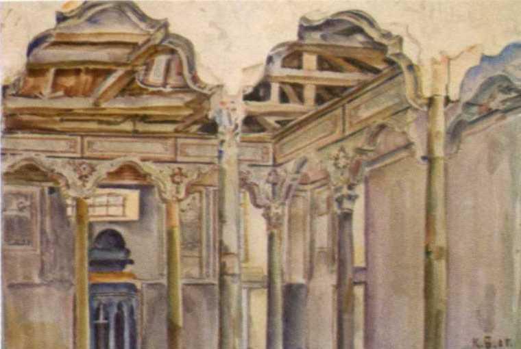 Інтер'єр мечеті Єшіль-джамі