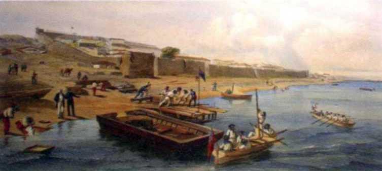 1855 р. Десант біля Єні-Кале