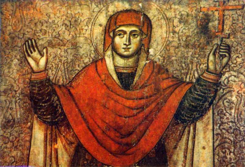 Свята Параскева. Фрагмент. XVII ст.