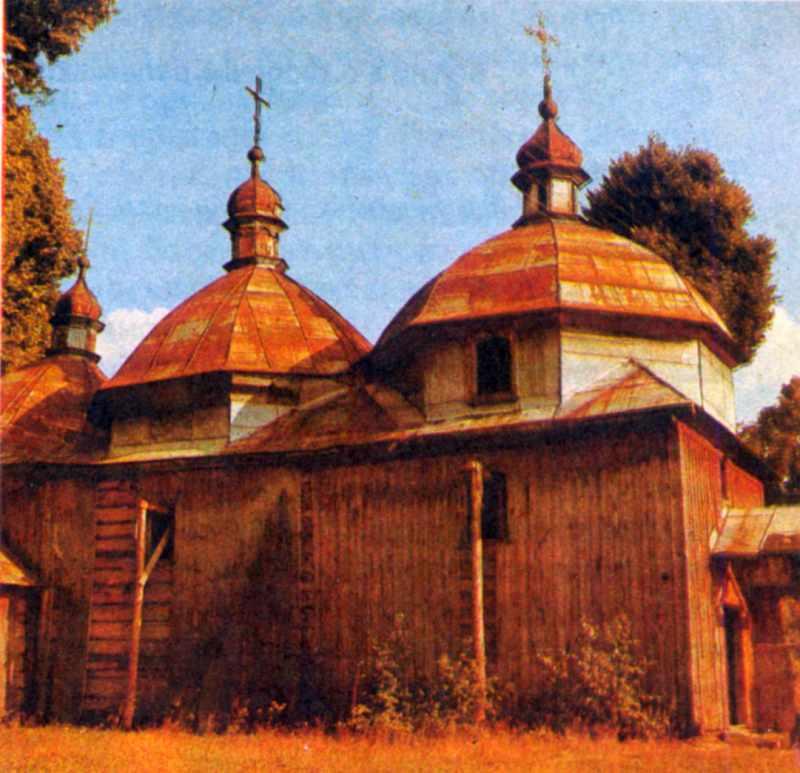 Церква у с.Великі Очі