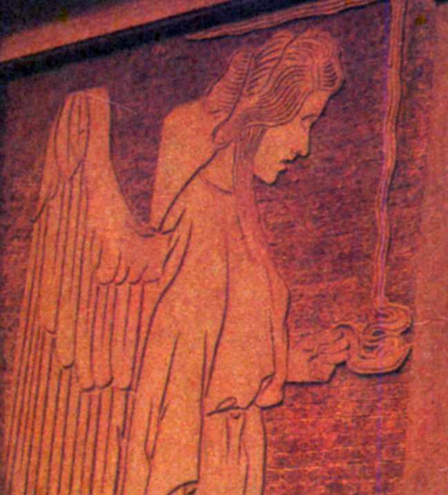 Півпостать ангела