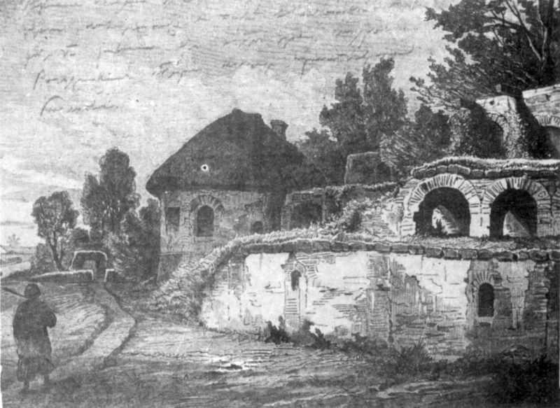 Руїни замку Богдана Хмельницького.…
