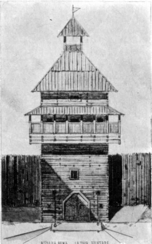Проект відновлення вежі замку