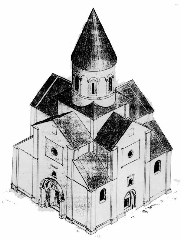 Варіант реконструкції церкви зі…