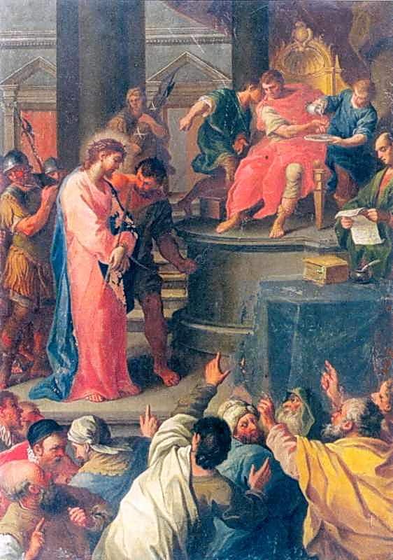 """Стація І. """"Христос перед Пилатом"""