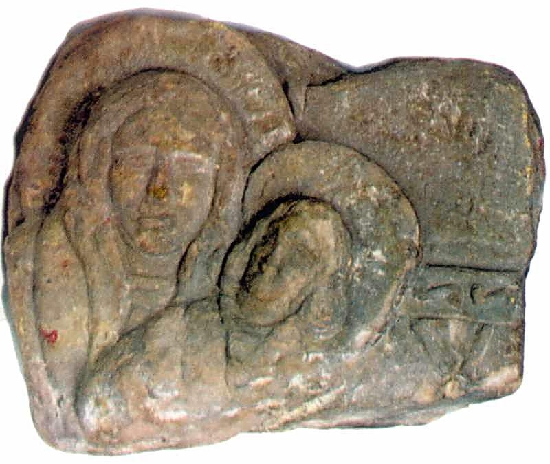 Рельєф богородиці Одигітрії