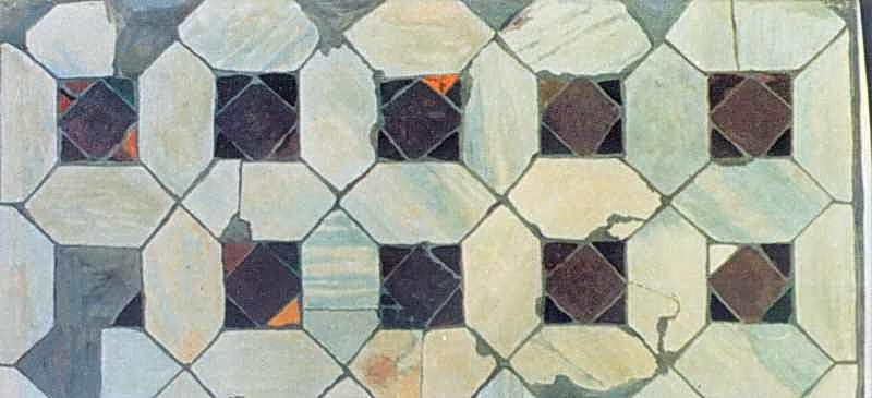 Фрагмент набірної підлоги