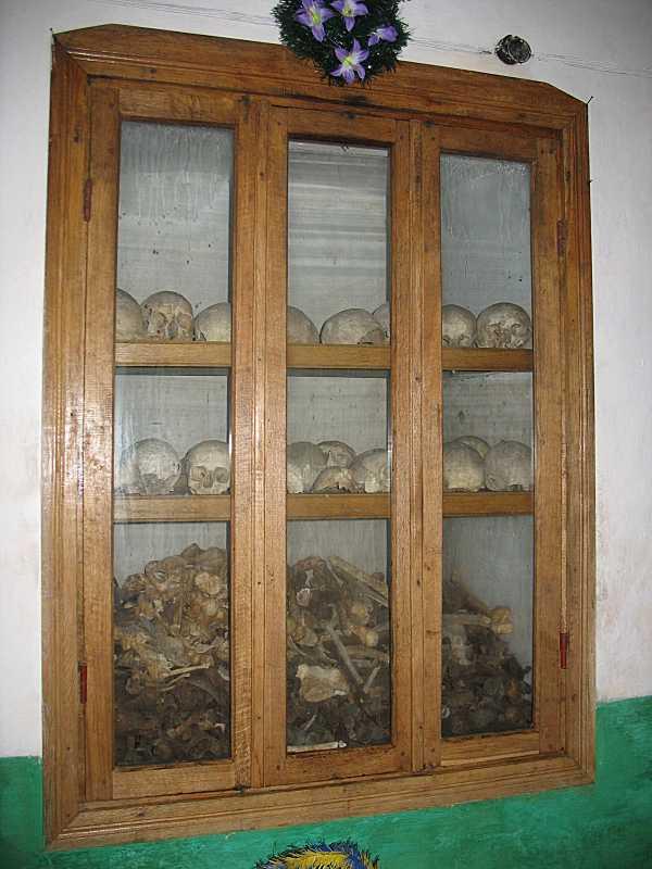 2007 р. Шафа для кісток загиблих