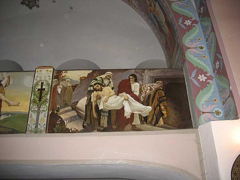 Ікона «Поховання Христа»