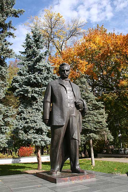 Monument to I. Franko - 1966, Drogobych