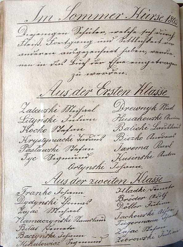 Сторінка переліку (І. франко – перший…
