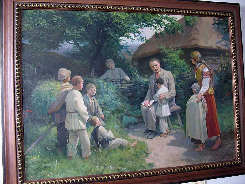 І. Франко у Нагуєвичах