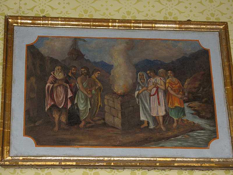 Картина «Євреї перед жертовником»