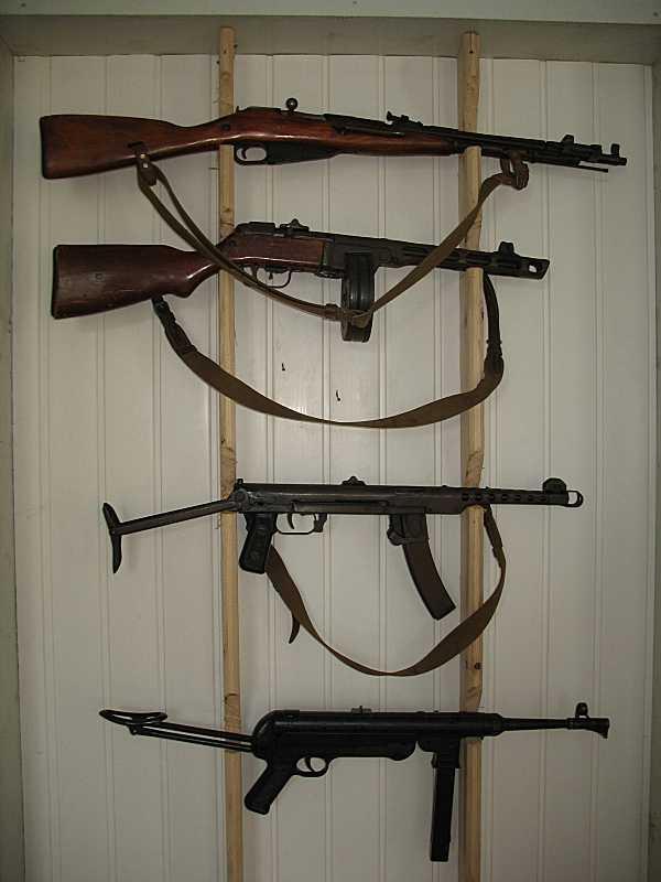 Зразки стрілецької зброї