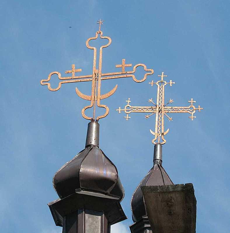 Хрести. Вигляд із заходу