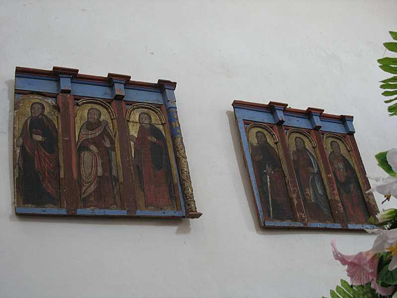 Фрагменти апостольського ряду іконостасу