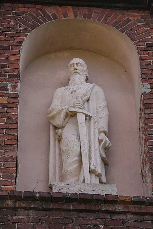 Скульптура апостола Павла