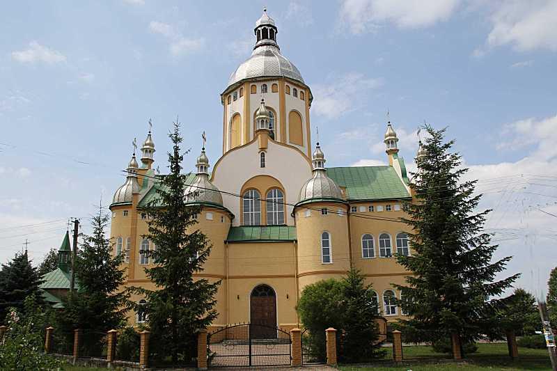 Церква св.Миколи греко-католицька нова