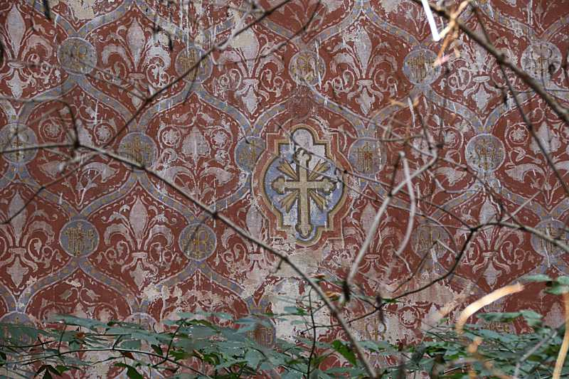Орнаментальний розпис стіни