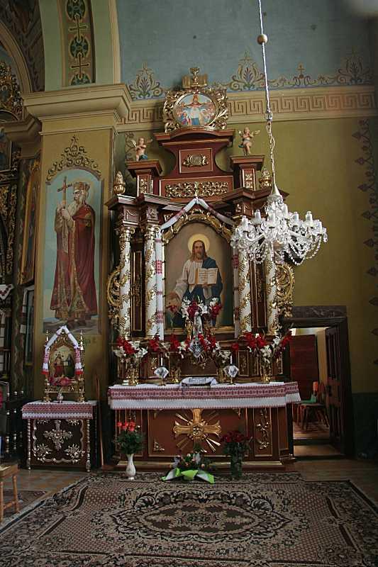 Кіот з іконою «Христос-учитель»