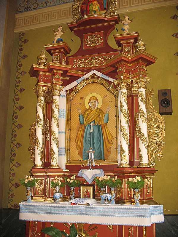 Кіот з іконою «Богородиця Оранта»